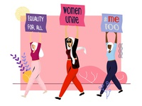 Damaa's Marches with the Women