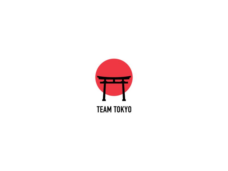 Team Tokyo Logo vector branding japanese logo