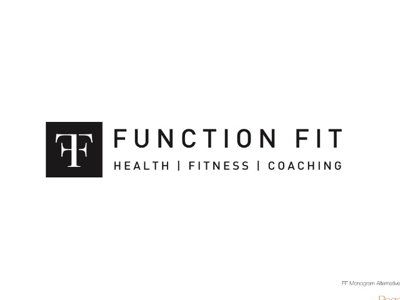 Function Fit Gym Logo branding graphic designer logo designer logo