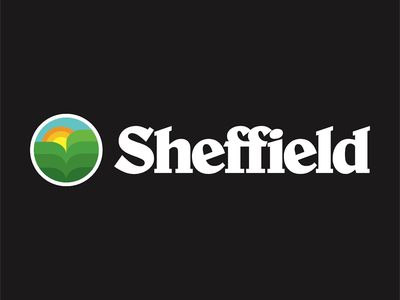 Americana in the U.K logo designer logo new psychedelic brand identity branding monoline thicklines americana logo design logo