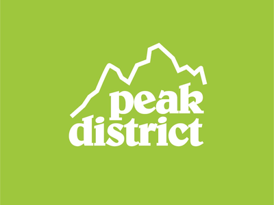 'Shefficana' Peak District Logo Design. hiking sheffield uk vector icon logo design brand design branding monoline thick lines logo