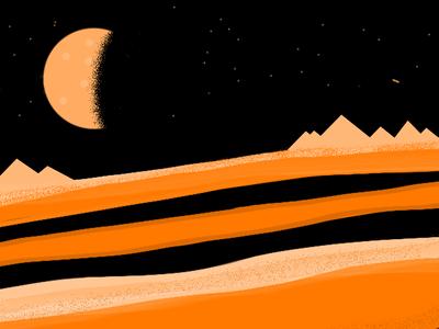 Night Sahara