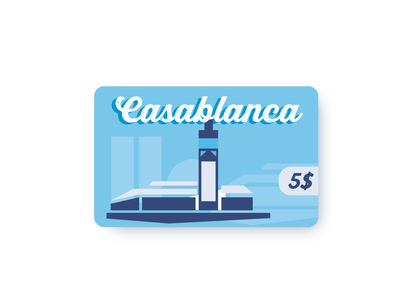 Casablanca city card