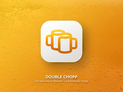 Chopp Dobrado logo app beer chopp icon