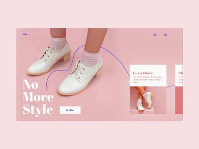 More web webdesign free freebie inspiration figma animation interaction ecommerce layout uidesign ui