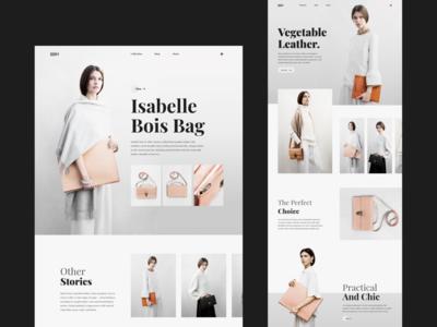 ))))O design website websites bag ecommerce design fashion design fashion design ecommerce layout ui uidesign websdesign