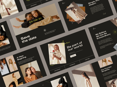 Yoine ux ui screens typography classic brand branding minimal webdesign web fashion