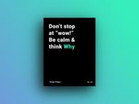 Design Critique Poster