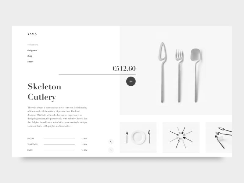 Yama webdesign landing typography design web uidesign ui clean minimal