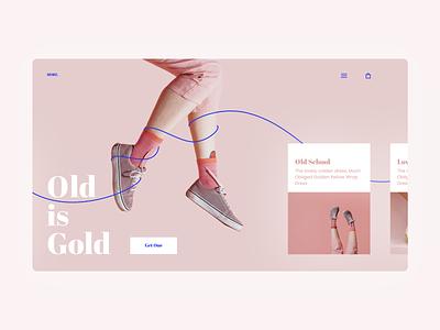 More. fashion ui uidesign ecommerce webdesign web layout clean simple minimal
