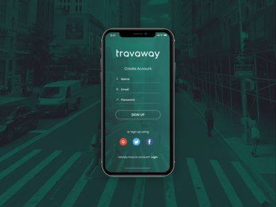 Day 1 - Daily UI Challenge - Sign Up Screen