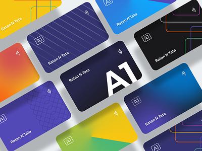 Digital Credit Cards gradients ui design finance app fintech app card app money app card layout card design digital card fintech finance fintech card cards