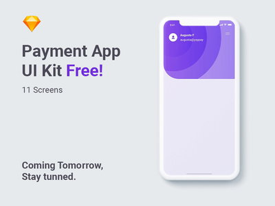 Freebie UI Kit - Payment App app animation animation interaction uidesign flat giveaways free layout clean app ios google payment payment app freebie ui kit ui