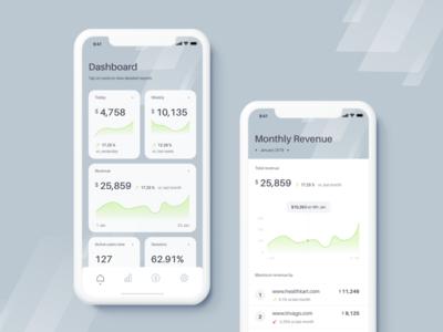 Analytics Dashboard Mobile