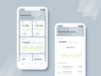 Analytics Dashboard Mobile