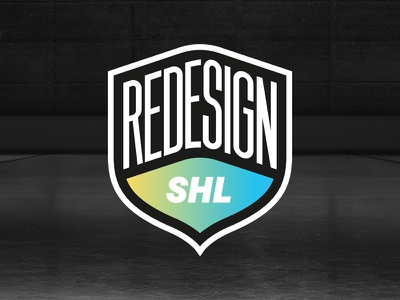 Redesign the Swedish Hockey League badge redesign hockey shl
