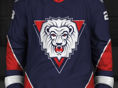 Redesign SHL – Linkoping HC jersey logo hockey
