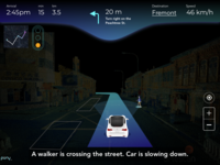 Driverless Vehicle HMI