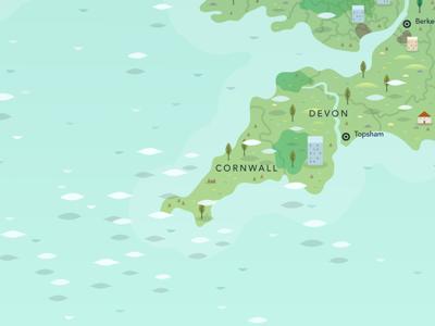 British Isles Mystery Map
