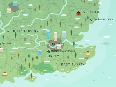 ITV1 Mystery Maps Piece