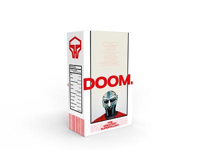 MF DOOM cereal branding doom illustration mockup design mockup hiphop music