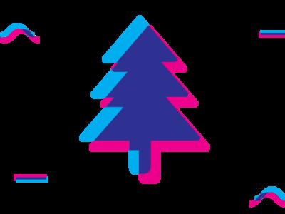 christmas 2018 ux branding vector typography logo design illustration ui