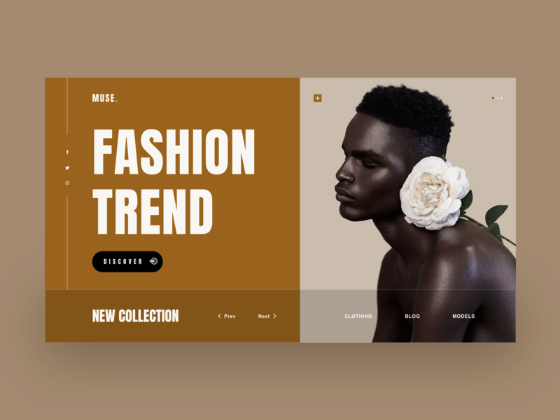 Fashion Trend popular design advanced black shop shopping art kit concise web clean design ui