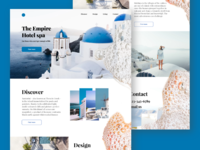 Landing Page Empire Hotel