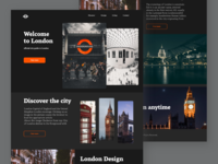 Landing Page – Discover London