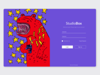 sign in page StudioBOX
