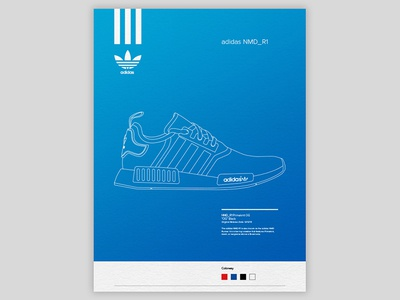 Adidas NMD Poster