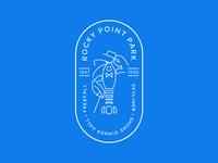 Rocky Point Park Badge