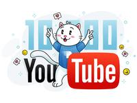 YouTube Cat - progress