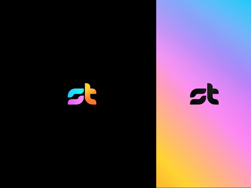 St Logo Design By Faridamiaty On Dribbble