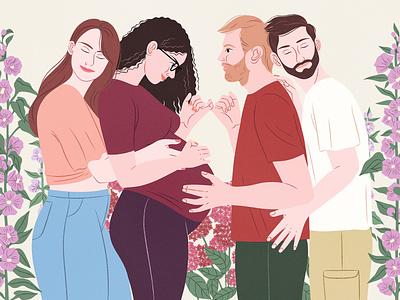 L'Obs press illustration editorial illustration magazine illustrator digital art illustration