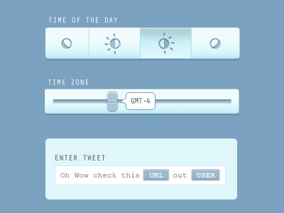 Time of the Day ui slider time