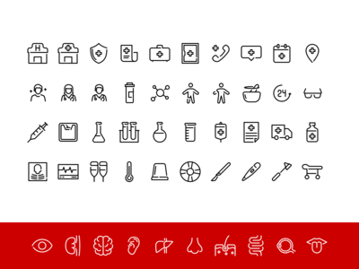 Medical Iconpack 1