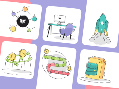 Icons for Our Proposal - 1 vector branding design iconography icon set illustration icon