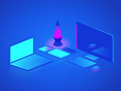 Neon Workspace