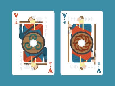 Viking Playing Cards
