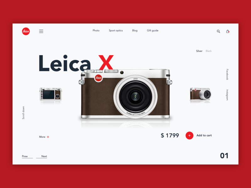4.0 Concept uiux design uiuxdesign uxuidesign shop concept photo white ui design dribbble ecommerce layout ux design ux ui design