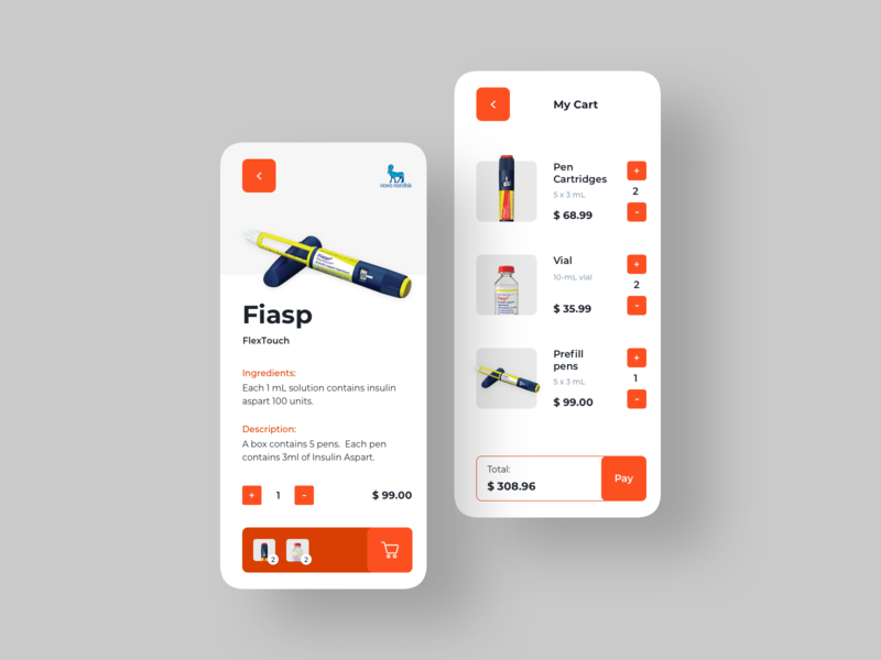 Pharmacy Online Concept App diabetic pharmacy ecommerce uiux inspiration dribbble concept ui design layout ui ux design ux design