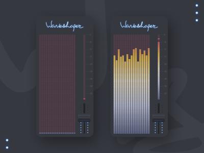 Audio recorder Waveshaper