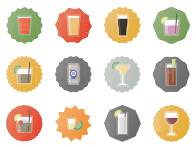 Dranks Sticker Pack message stickers sticker pack booze drinks stickers imessage ios