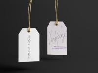logo + hang tag for a vintage shop