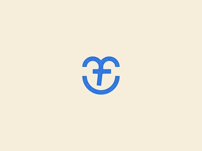 😄 smiley monogram logo icon monogram letter mark wink monogram smile
