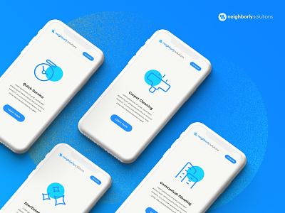 Web Icon System set button logo branding web website icon design ux ui minimal