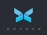 Butterfly Logo Exploration