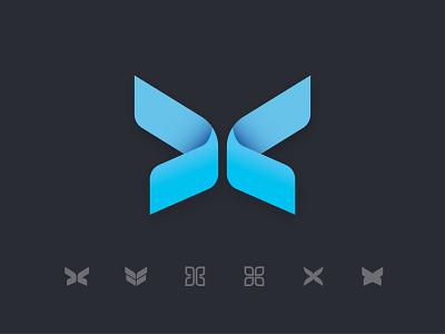 Butterfly Logo Exploration brand identity brand design design vector branding icon minimal logo butterfly