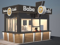 Baba Cafe,Kiosk